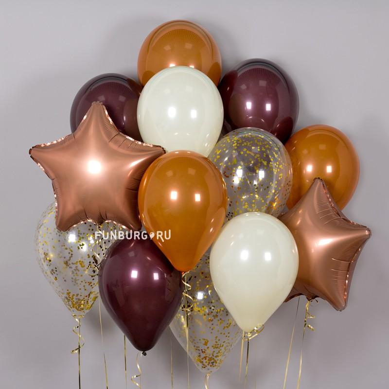 Купить Набор шаров «Шоколад»