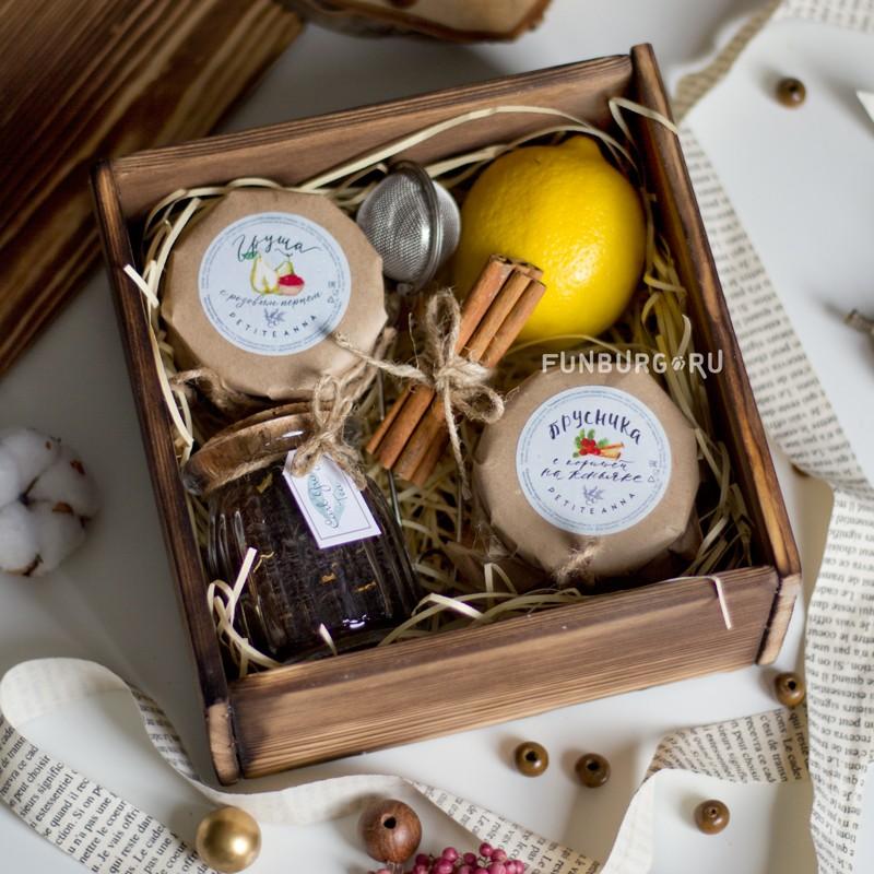 Подарочный набор «Для сладкого чаепития» фото