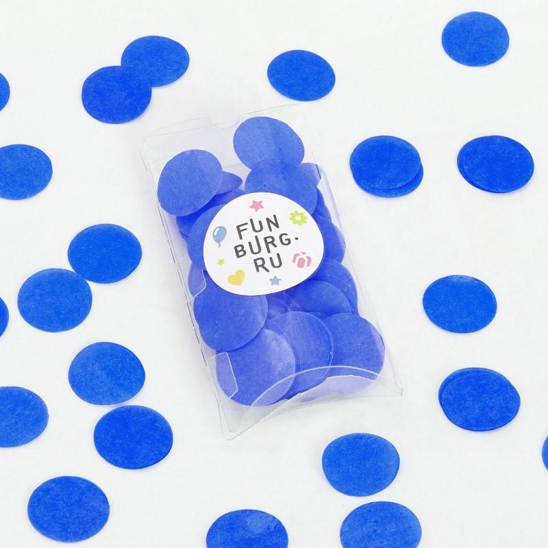 Бумажное конфетти «Синее»Конфетти<br> <br>Состав:<br><br><br>30 г бумажного конфетти, пластиковая коробочка<br><br><br> <br>Размер:<br><br><br>диаметр 3 см, размер коробочки 7х12,5 см<br><br>