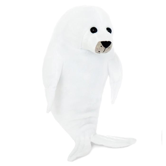 Мягкая игрушка «Белый тюлень» фото