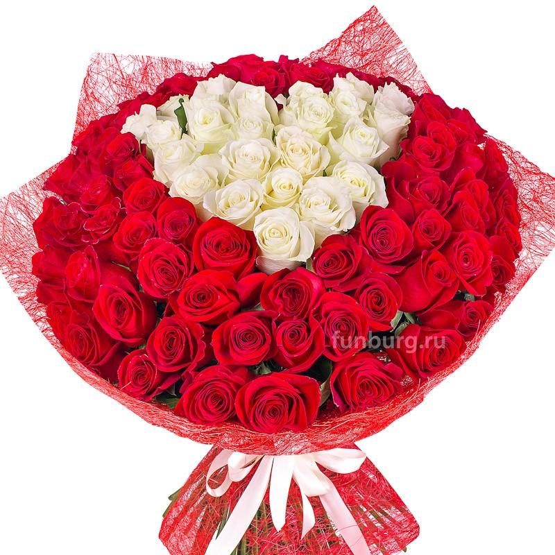 Букет роз «Идеальная любовь»