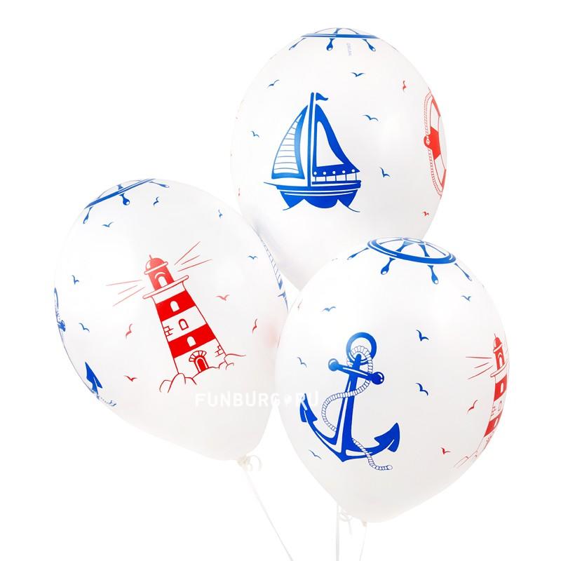 Воздушные шары «Море» фото