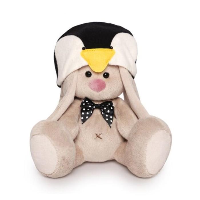 Мягкая игрушка «Зайка Ми в шапке пингвина» фото