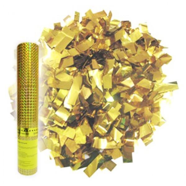 Купить Пневмохлопушка «Золотое конфетти» (30 см)