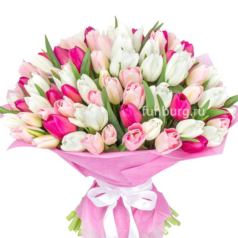 Букет тюльпанов «Преклонение»