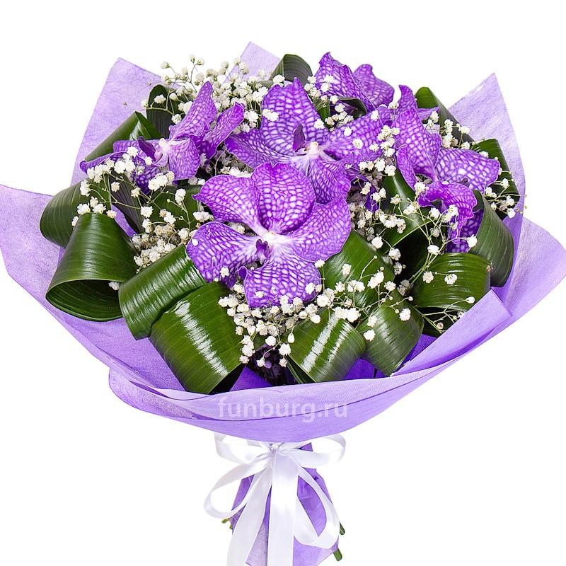 Букет орхидей «Секрет» фото