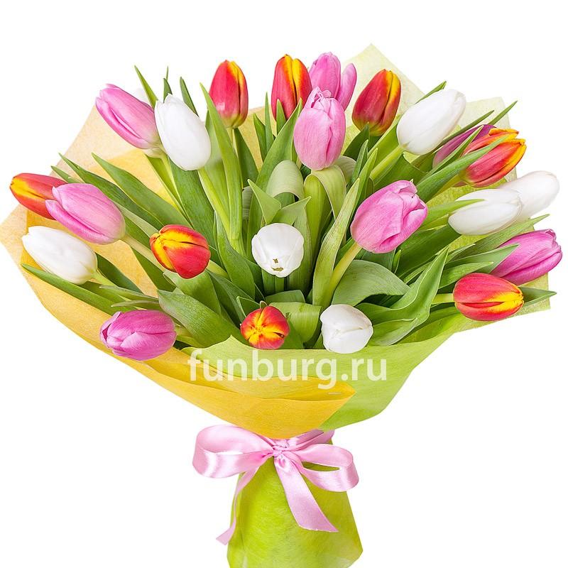 Букет тюльпанов «Женский день»