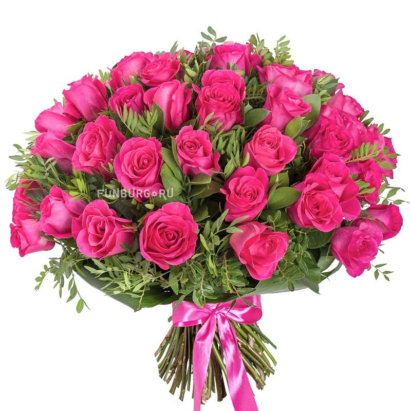 Букет розовых роз «Премиум» фото