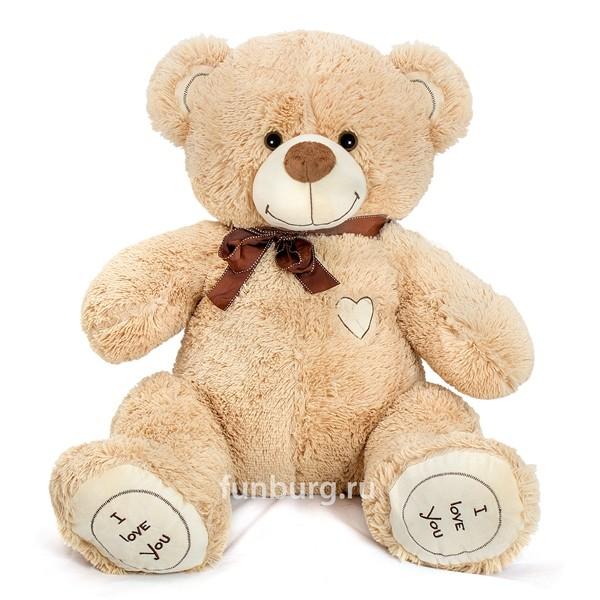 Большой медведь «Барни» фото