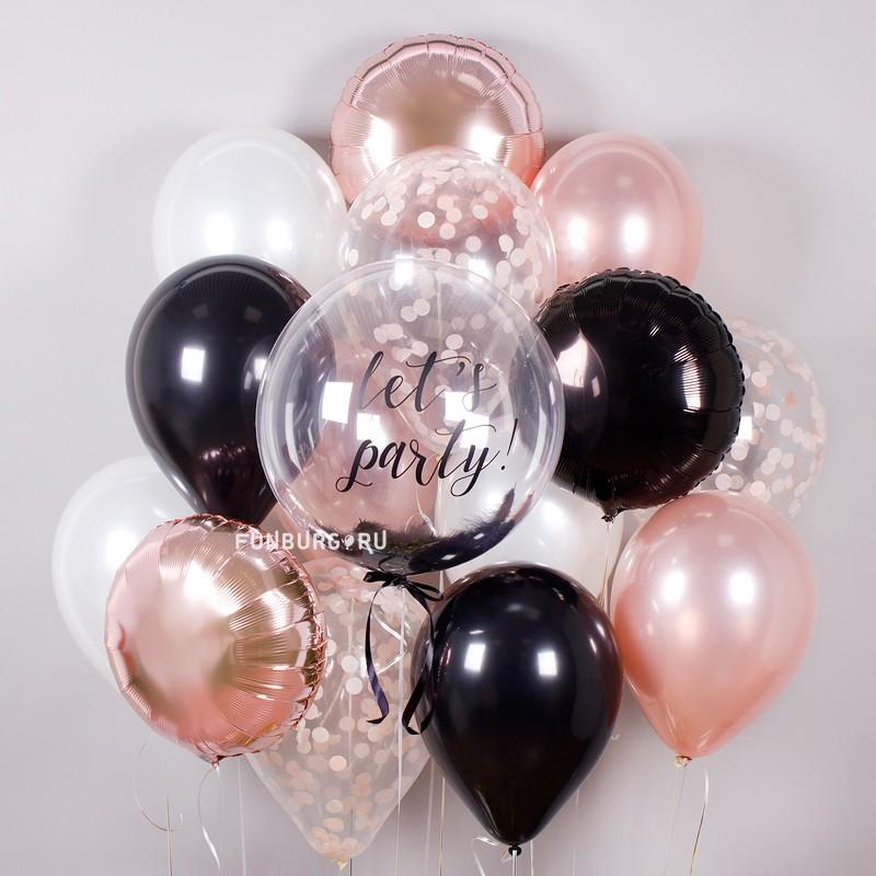 Купить Набор шаров «Blush»