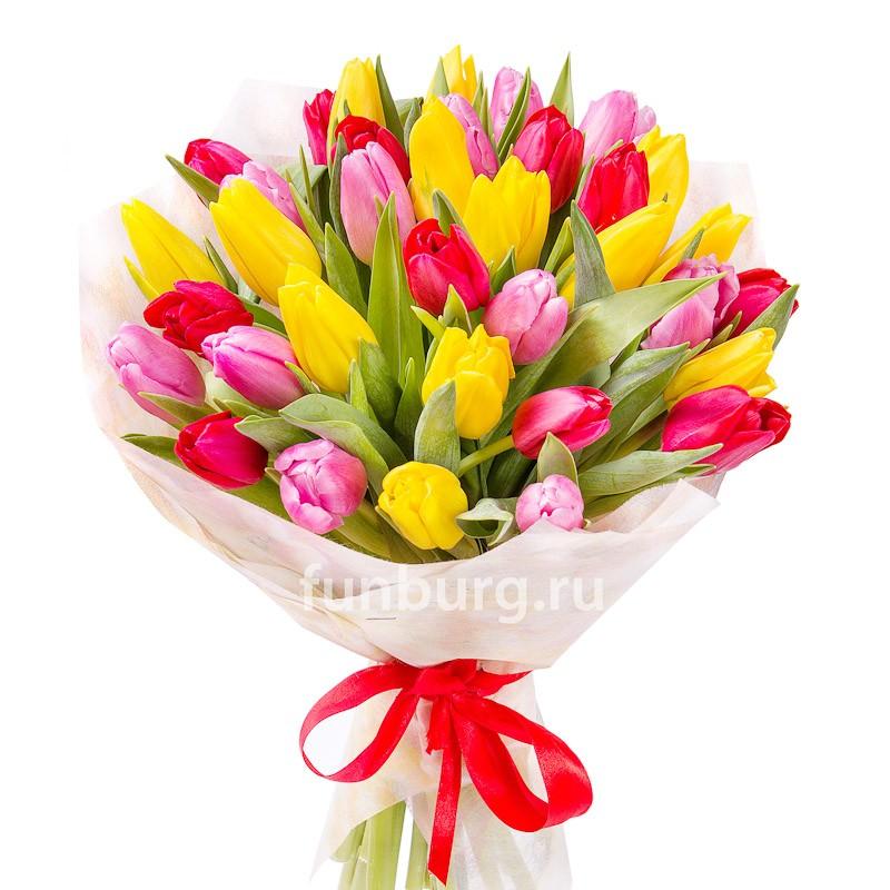 Букет тюльпанов «Флоренция»