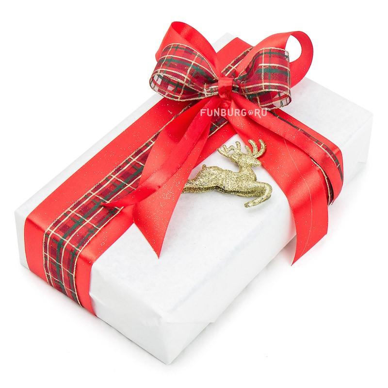 Подарочная упаковка «Новогодняя №5» фото