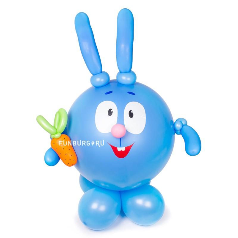 Фигура из шаров «Смешарик Крош» фото