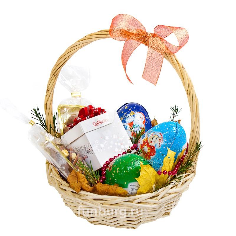 Купить Подарочная корзина «Все в шоколаде!»
