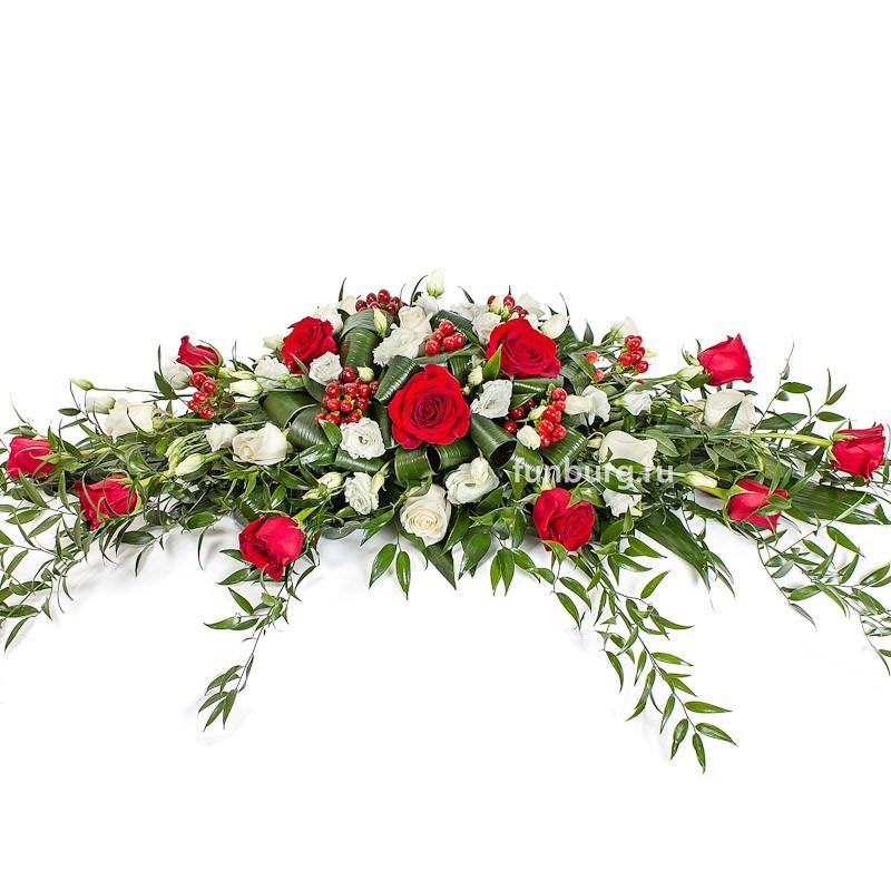 Композиция на стол «Свадебная№7»