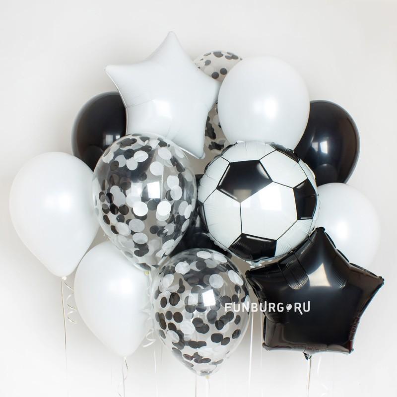 Набор шаров «Звезда футбола»Наборы шаров<br>По вашему желанию набор может быть выполнен в цветах любимого футбольного клуба.<br> <br>