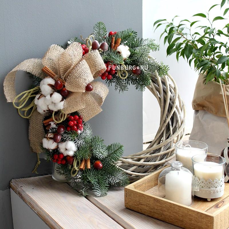 Венок «Рождественская сказка»