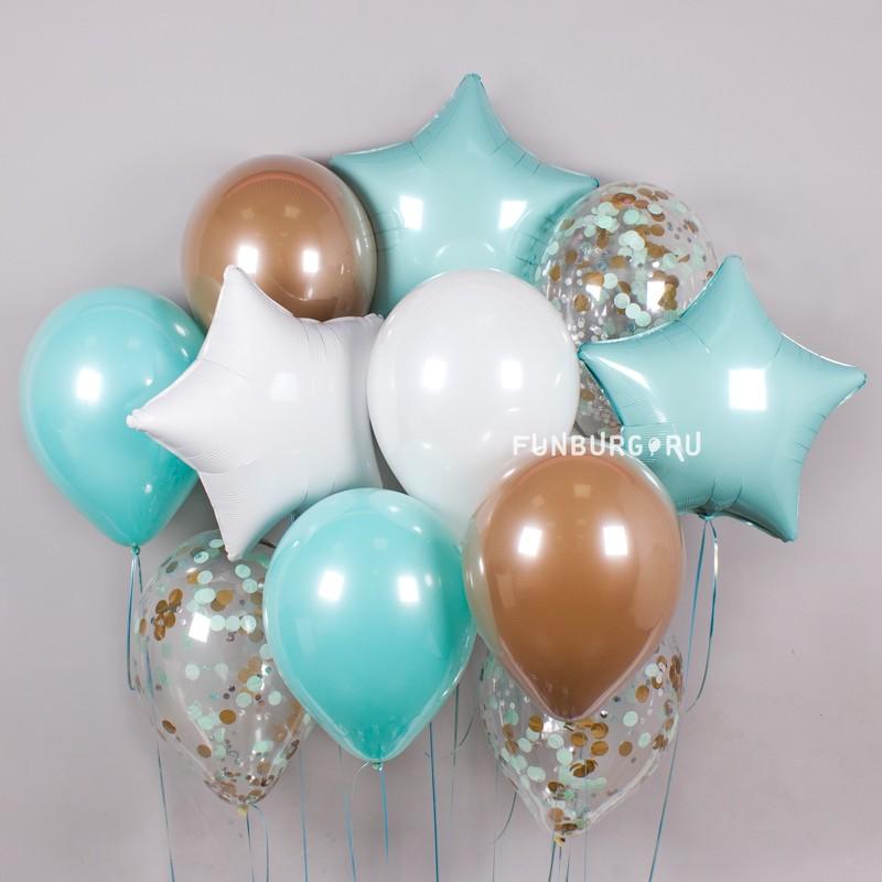 Купить Набор шаров «Аквамарин»