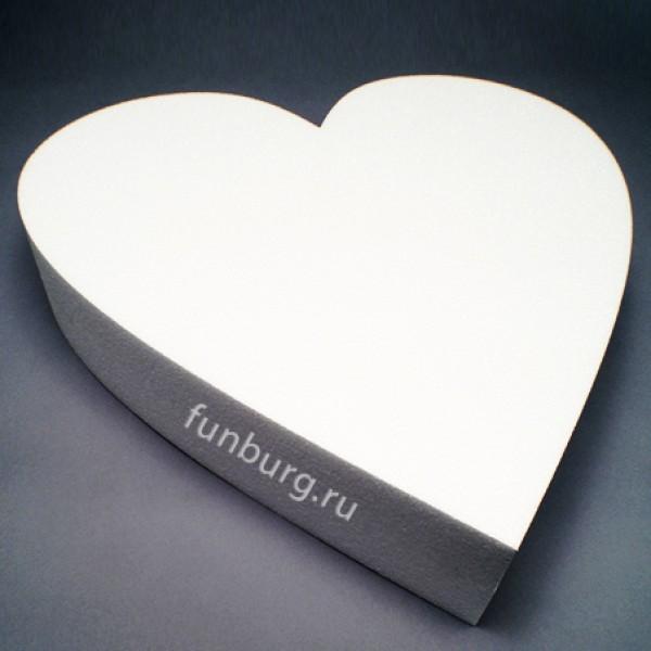 Фигура из пенопласта «Сердце» фото