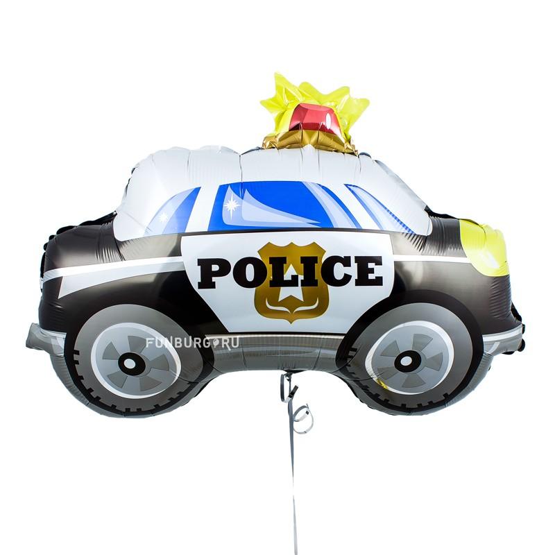 Купить Шар из фольги «Полицейская машина»