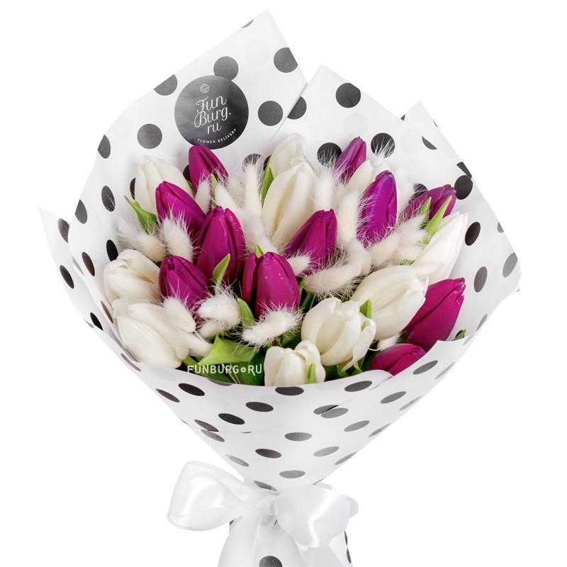 Букет тюльпанов «Авиньон»
