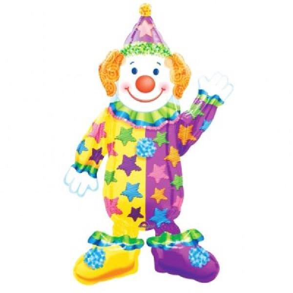 Ходящий шар «Клоун»Ходящие шары<br>Размер: 111 см (44) Производитель: Anagram, США<br>