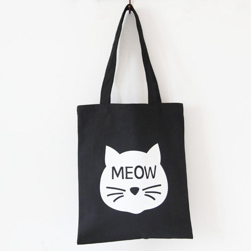 Тканевая сумка «Meow»Аксессуары<br> <br>Размер:<br><br><br>37?41 см<br><br>