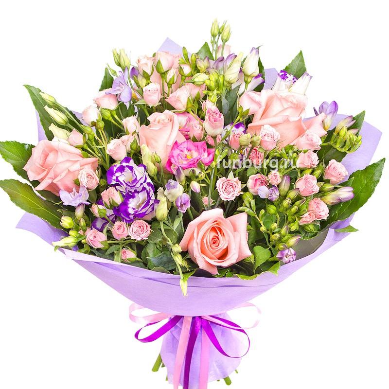 Букет «Единственной»с розами<br><br>