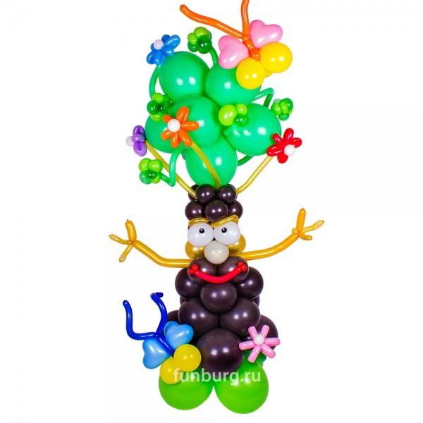 Фигура из шаров «Мудрое дерево»Все фигуры<br>Высота: 170 см<br> Производство: Funburg.ru<br>