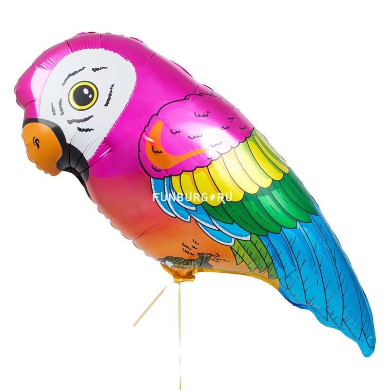 Шар из фольги «Попугай»Из фольги с рисунком<br>Размер: 70 смПроизводитель: Flexmetal, Испания<br>