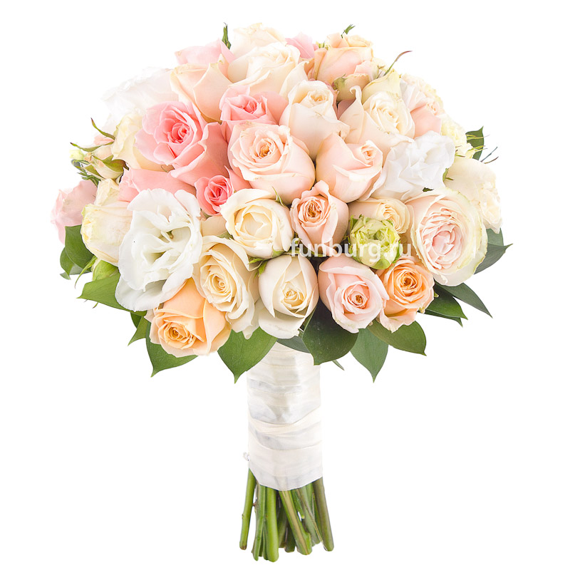 Букет невесты «Королева бала»Букеты невесты<br> <br>Диаметр:<br><br><br> 20-23 см<br><br>