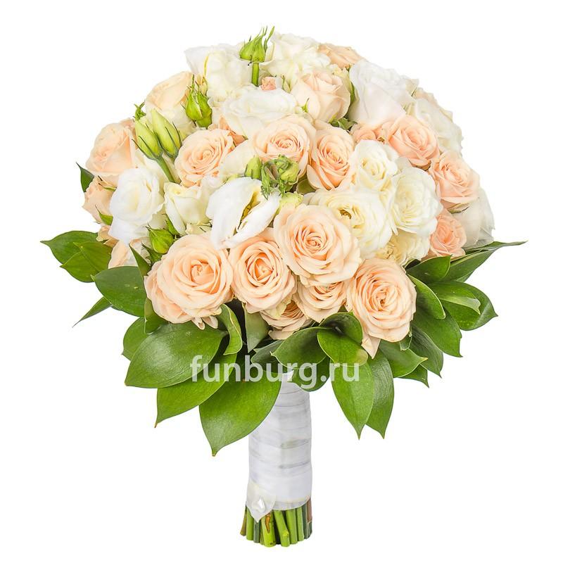 Букет невесты «Воплощение нежности»Букеты невесты<br> <br>Диаметр:<br><br><br>20-23 см<br><br>