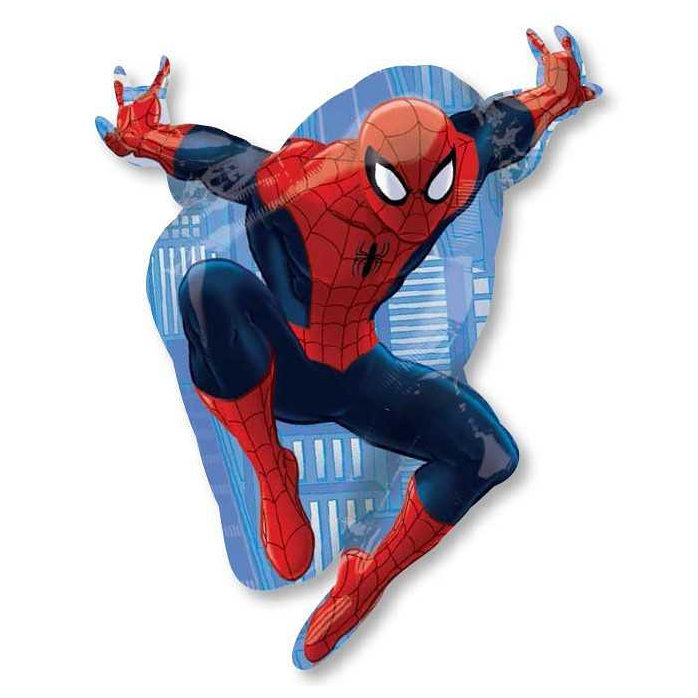 Шар из фольги «Человек-паук»Из фольги с рисунком<br>Размер: 110 см<br>Производитель: Anagram, США<br>