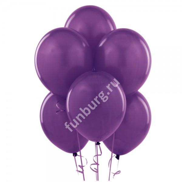 Шарик без рисунка «Фиолетовый»Латексные без рисунка<br>Размер: 30 см (12)<br>Производитель: Sempertex, Колумбия<br>
