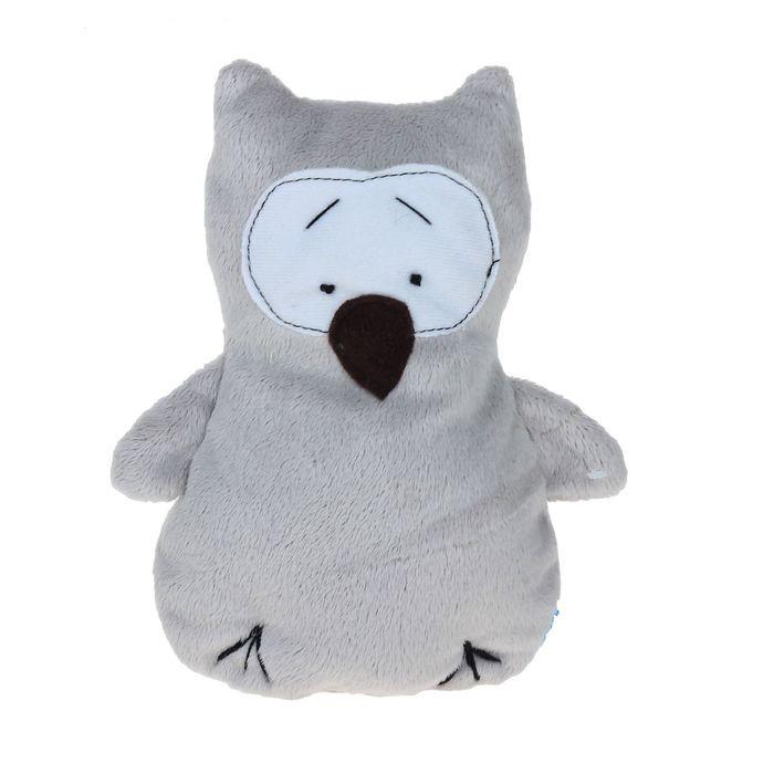 Мягкая игрушка «Совёнок»Все мягкие игрушки<br>Бренд: «Дельфин», РоссияРазмер: 20 см<br>