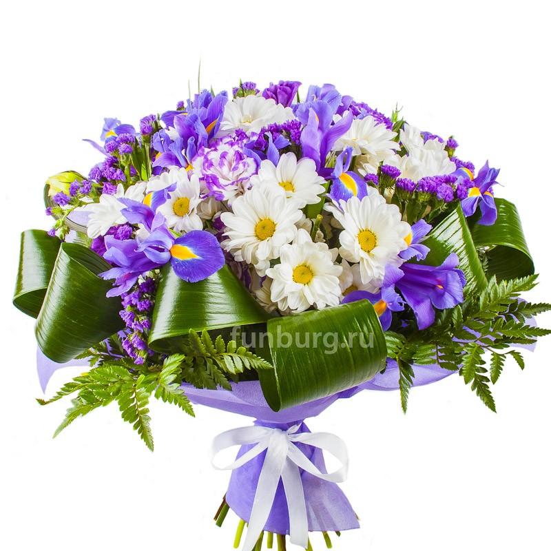 Букет «Юность»с хризантемами<br><br>
