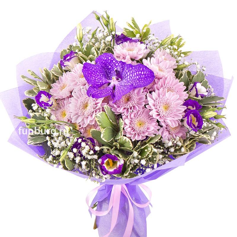 Букет «Поэма»с орхидеями<br><br>