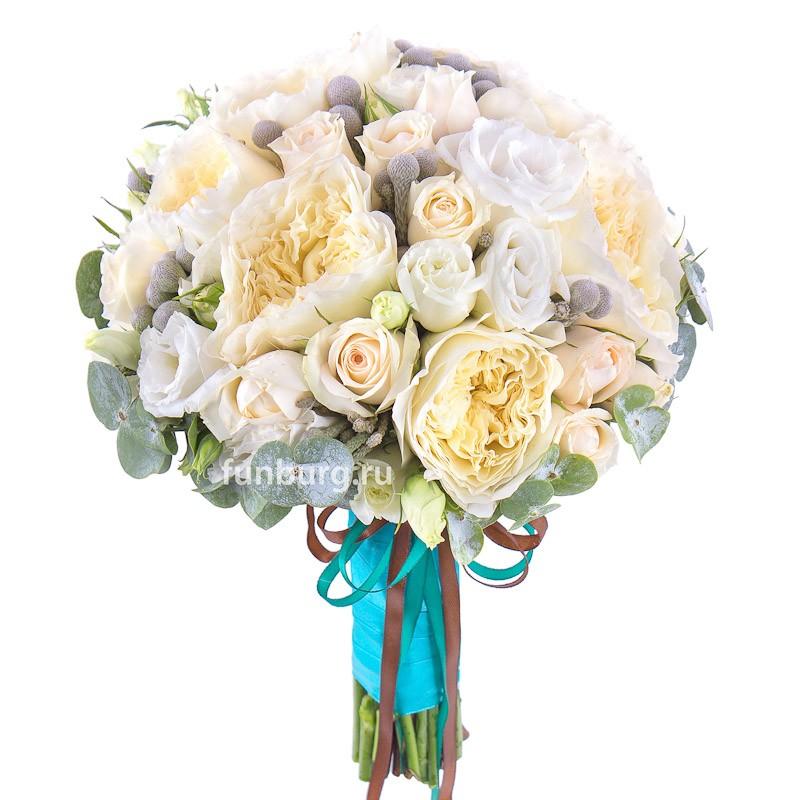 Букет невесты «Воздушные замки»Букеты невесты<br> <br>Диаметр:<br><br><br> 20-23 см<br><br>