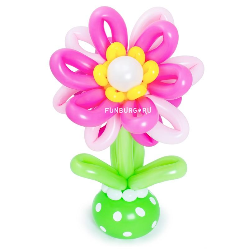 Фигура из шаров «Астра»Цветы из шаров<br>Размер: 50 см<br>Производство: Funburg.ru<br>