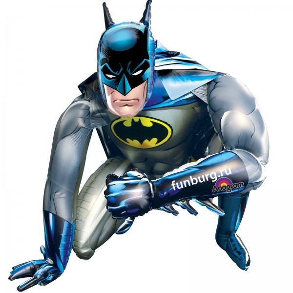Ходящий шар «Бэтмен»Ходящие шары<br>Размер: 91?111 см Производитель: Anagram, США<br>