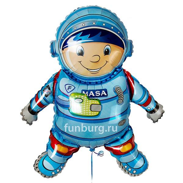 Шар из фольги «Космонавт»Из фольги с рисунком<br>Размер: 81 см<br>Производитель: Flexmetal, Испания<br>