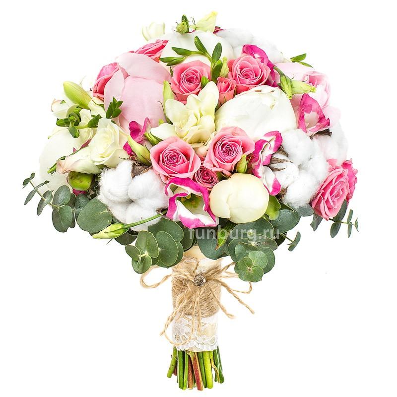Букет невесты «Воздушная нежность»Букеты невесты<br> <br>Диаметр:<br><br><br>25 см<br><br>