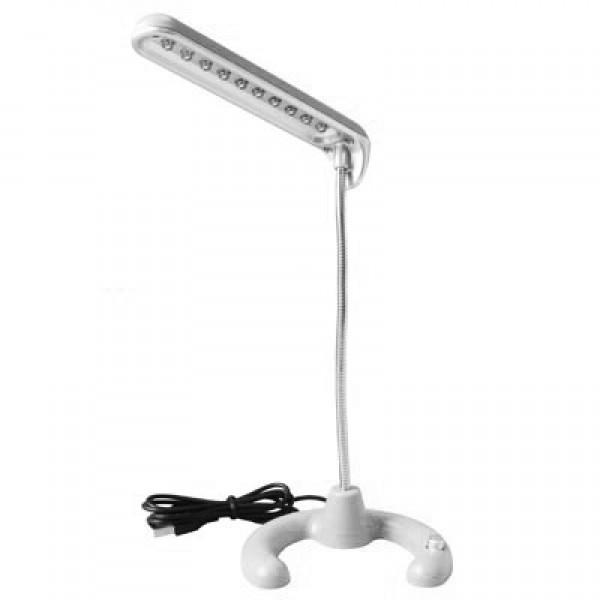 USB-аксессуар «Яркая настольная лампа»Канцтовары и аксессуары<br>Высота лампы: 22 смКоличество светодиодов: 10Включается и выключается кнопкой в основании лампы.<br>