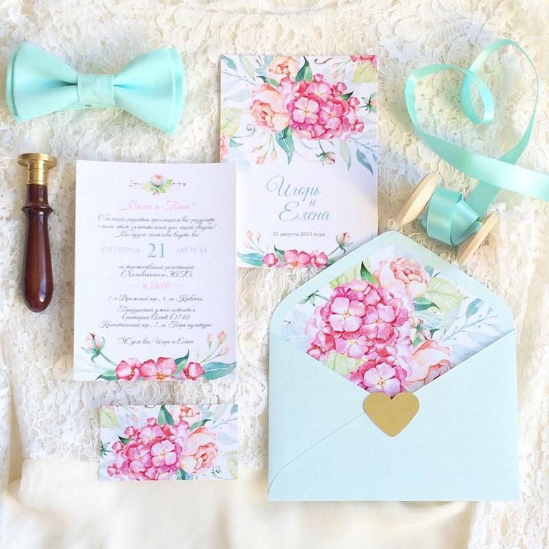 Комплект свадебной полиграфии №5Свадебные аксессуары<br> <br>Комплект:<br><br><br>конверт, приглашение<br><br>
