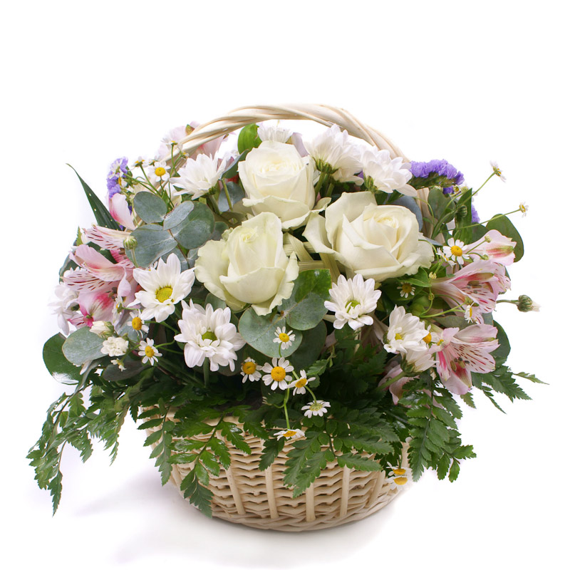Корзинка цветов «Милая моя»Корзины цветов<br><br>