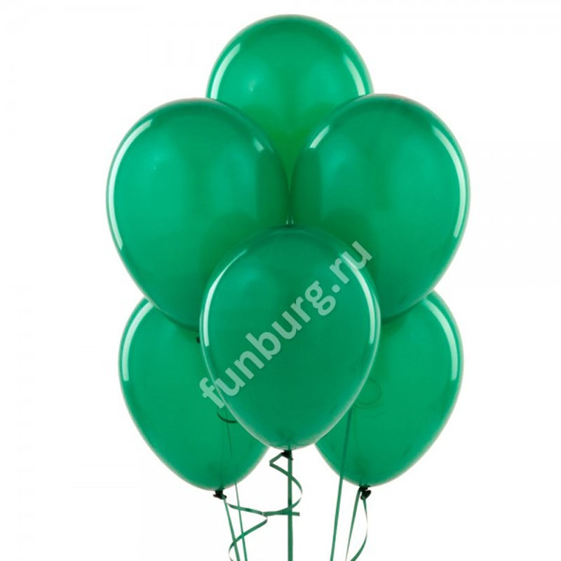 Шарик без рисунка «Тёмно-зелёный»Латексные без рисунка<br>Размер: 30 см (12)<br>Производитель: Sempertex, Колумбия<br>