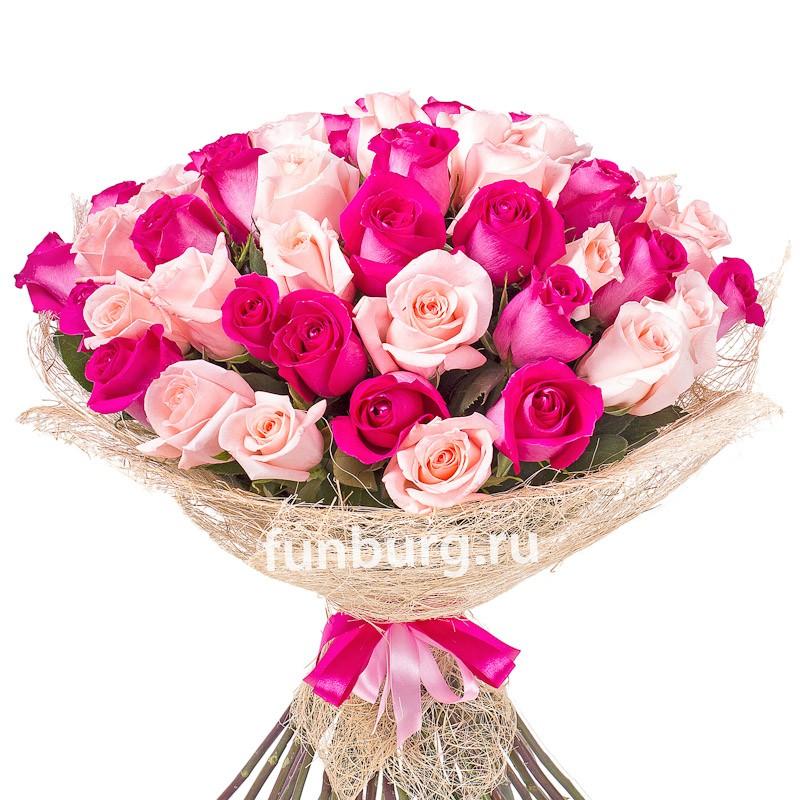 Букет роз «Великолепие XL»Монобукеты<br><br>