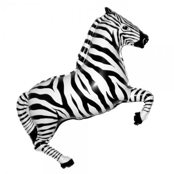Шарик из фольги «Зебра»Из фольги с рисунком<br>Размер: 91 см (36) Производитель: Flexmetal, Испания<br>