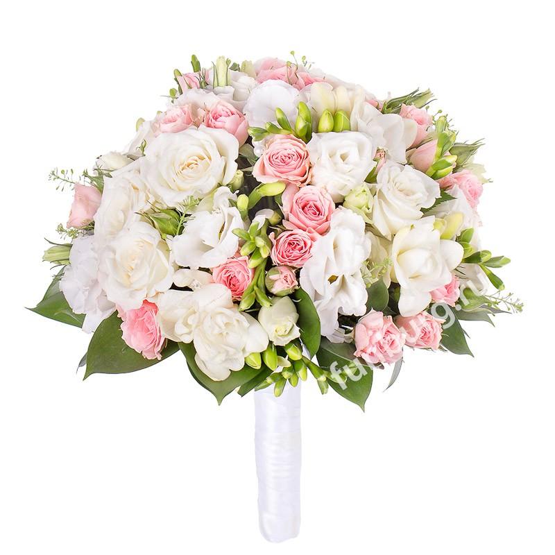 Букет невесты «Зефир»Букеты невесты<br> <br>Диаметр:<br><br><br>20-23 см<br><br>