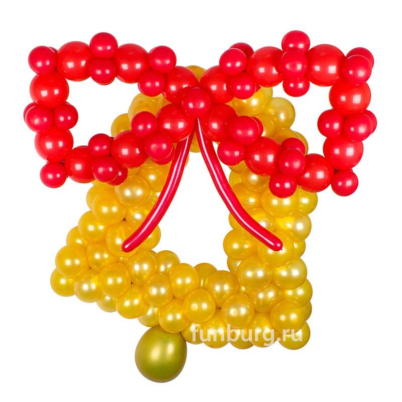 Фигура из шаров «Последний звонок»Выпускной<br>Высота: 150 см<br>